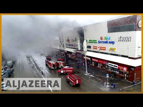 🔥 Russia: Shopping mall fire kills at least 64 in Siberia | Al Jazeera English