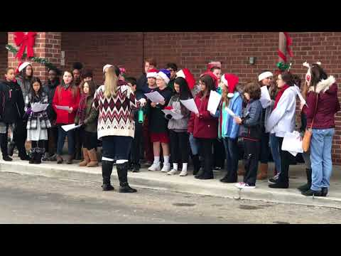 Magothy and Severn River Middle school - Christmas carols 12/17/2017