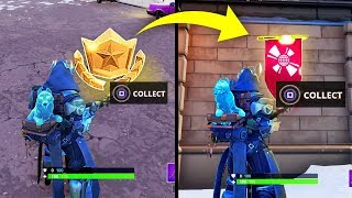 SECRET BANNER WEEK 4 SEASON 7 LOCATION! - Fortnite Battle Royale– WEEK 4 SECRET BATTLE STAR REPLACED