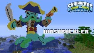 Wash Buckler Skylanders Swap Force Minecraft Speed Build