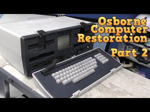 Osborne 1 Computer Restoration Part 2