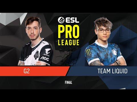 CS:GO - G2 Esports Vs. Team Liquid [Nuke] Map 3 - Final - ESL Pro League Season 9