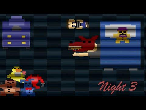 Fnaf 4 night 3 mini game youtube