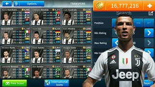 How To Hack Juventus Team 2018-19 ● All Players 100 ● Dream League Soccer 2020 - NEW UPDATE