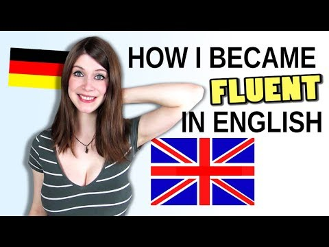 How I Became FLUENT IN ENGLISH