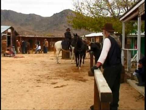 old west movie set youtube