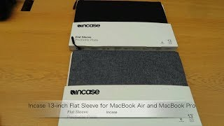 Incase 13 inch Flat Sleeve for MacBook Air and MacBook Pro