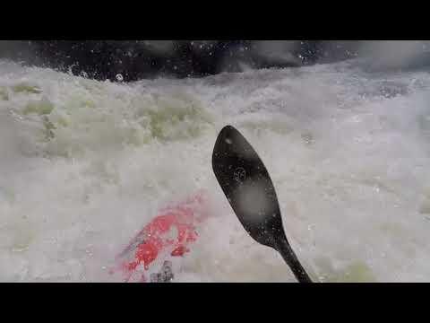Kayaking Red Creek In West Virginia Medium Level Between L And Next Tic