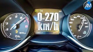 Stelvio Quadrifoglio (510hp) - 0-270 km/h acceleration🏁