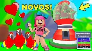 COMPREI FINALMENTE OS NOVOS OVOS DO ADOPT ME! - ROBLOX (PETS DE SELVA)