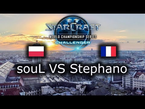 souL VS Stephano - WCS Leipzig EU Qualifier - Group Stage - polski komentarz - TvZ