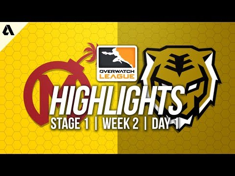 Florida Mayhem vs Seoul Dynasty ft Ryujehong TviQ | Overwatch League Highlights OWL Week 2 Day 1