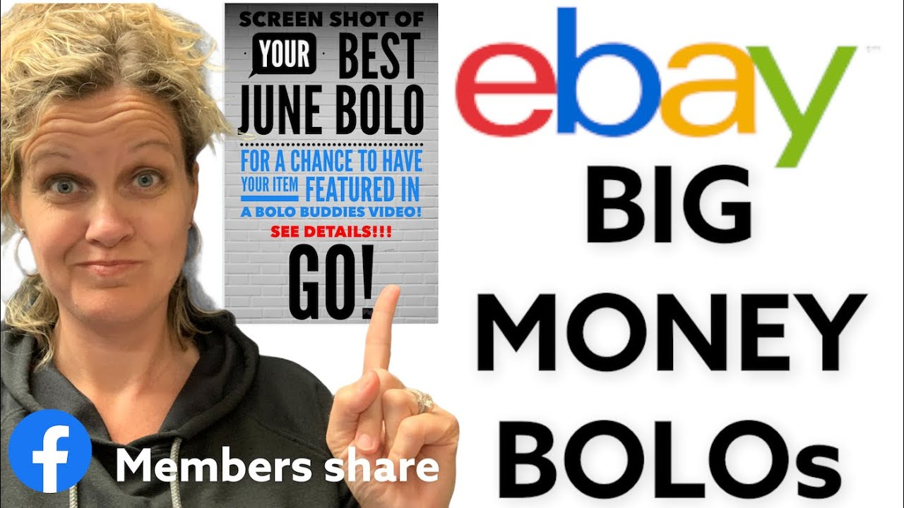 BIG MONEY ebay BOLOs BOLO items shared by BOLO Buddies Facebook group members What Sold!