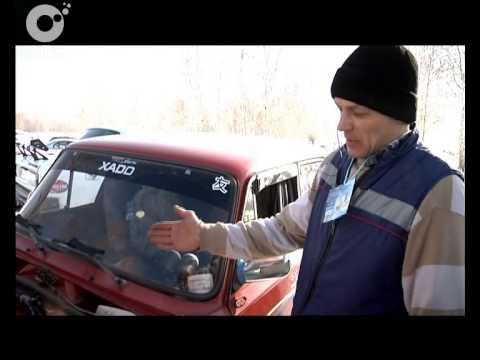 Кубок Новосибирска по ралли-спринту. Любители скорости выявляли самого быстрого на ледовом треке