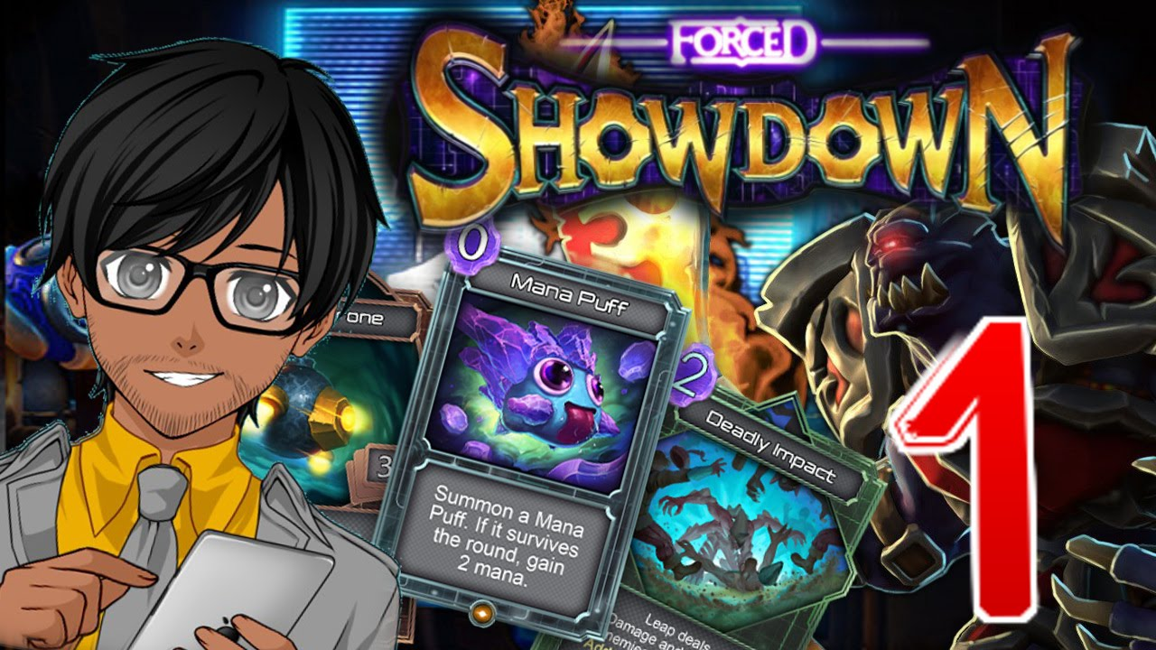 Forced Showdown Gameplay gameshow of the century!! | forced showdown | gameplay / review / let's  play part 1 (early access)