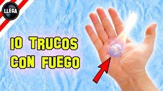 10 Trucos Con Fuego Que No Conocías - Experimentos Caseros - LlegaExperimentos thumbnail
