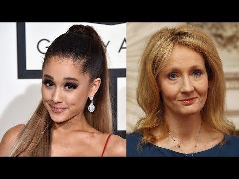 Ariana Grande Just SCHOOLED JK Rowling On Wizarding Spells & It Was Epic