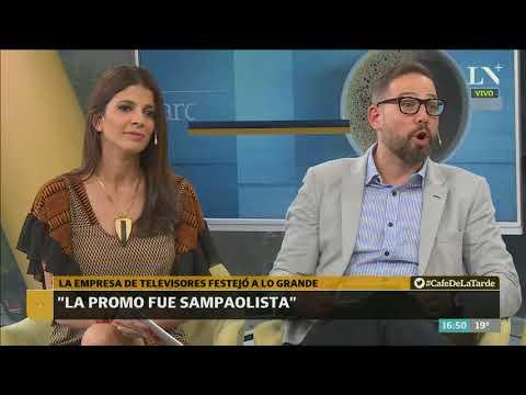 Selección: la empresa de televisores festejó a lo grande - Café de la Tarde