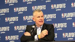 Thunder vs Blazers Game 5 - Billy Donovan