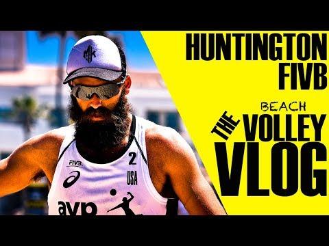 THE AVP | FIVB Huntington Beach Volley Vlog 2018