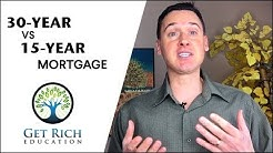 30-Year Vs. 15-Year Mortgage - What