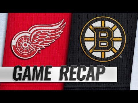 Nielsen pots game-winner as Red Wings top Bruins