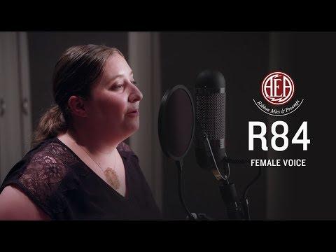 AEA R84 - Female Voice - Listening Library