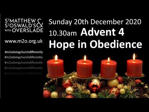 10.30 Service 20 Dec Livestream Advent 4