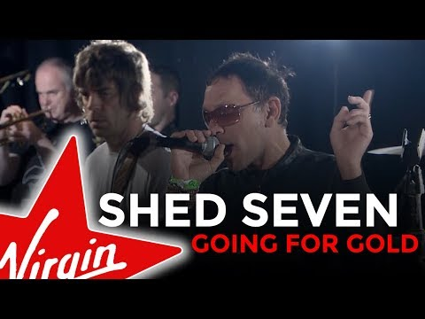 Shed Seven - Going For Gold (Virgin Radio UK session)