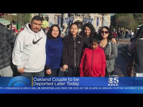 Oakland Family To Be Deported After Last-Minute Request Denied