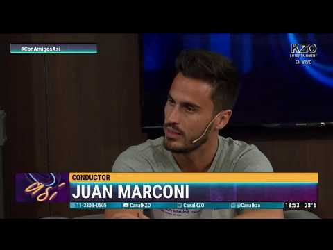 Juan Marconi en Con Amigos Así