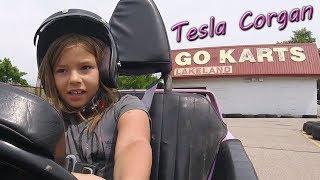 Go-Pro Go-Kart laps at Lakeland Go-Karts in Hamilton Ontario! (8 years old)