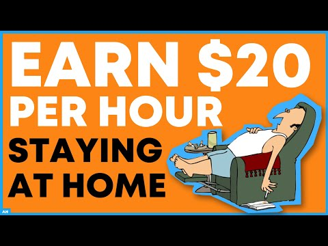 7 Legit Sites That Pay $20 Per Hour To Work At Home