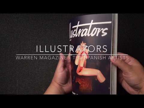 ILLUSTRATORS - Warren Magazine-The Spanish Artists