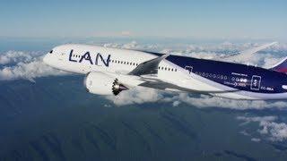 El Espíritu del Sur del Mundo - Lan Chile / LAN Airlines Boeing 787-8 Dreamliner