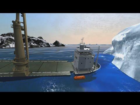 Jumbo Javelin capsizes   Ship Simulator Extremes