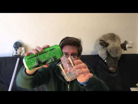 Rockstar Freeze Frozen Lime Energy Drink Test