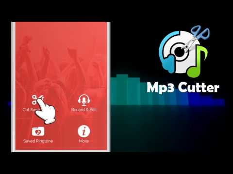 Mp3 Cutter - Ringtone maker app promo video..
