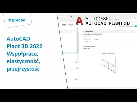 AutoCAD Plant 3D 2022 – Współpraca, elastyczność, przejrzystość | NetCafe