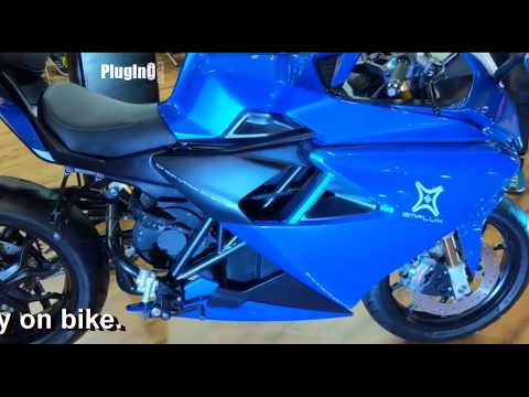 electric-bikes-at-autoshow-2018---delhi-|-okinawa-|-tvs-|-emflux-|-22motors-|-ethanol-bike|