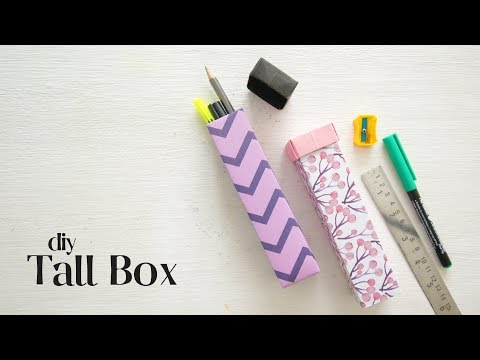 Tall Origami Box Instructions | DIY Tall Box