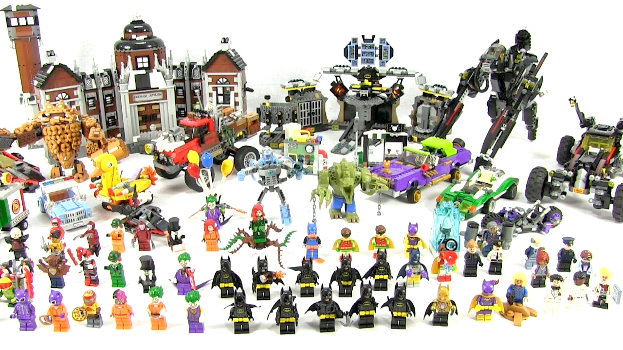 Full Collection LEGO Batman Movie Sets In One Video - New ...