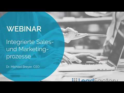 Mehr Umsatz durch integrierte Marketing- und Vertriebsprozesse