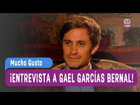 Entrevista a Gael García Bernal - Mucho Gusto 2016