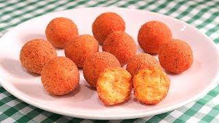 Croquetas de Zanahoria  Receta Rápida y Deliciosa