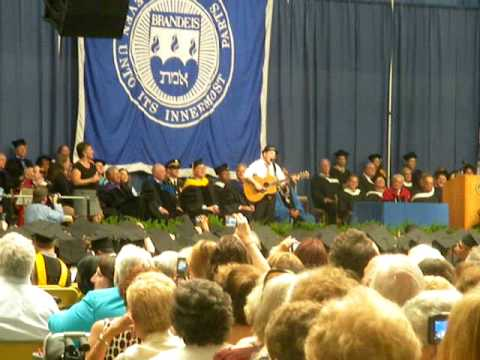 Paul Simon - The Boxer - Brandeis University Commencement 5/23/10
