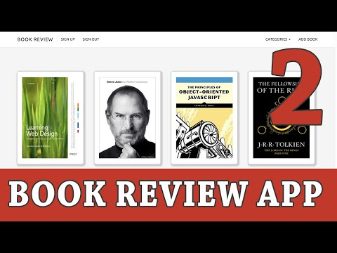 Ruby on Rails Tutorial   Build a Book Review App - Part 2