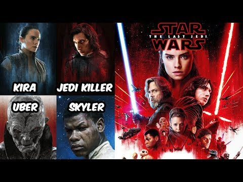 The Sequel Trilogy Was Always Heading In This Direction? + Characters Original Names - Star Wars