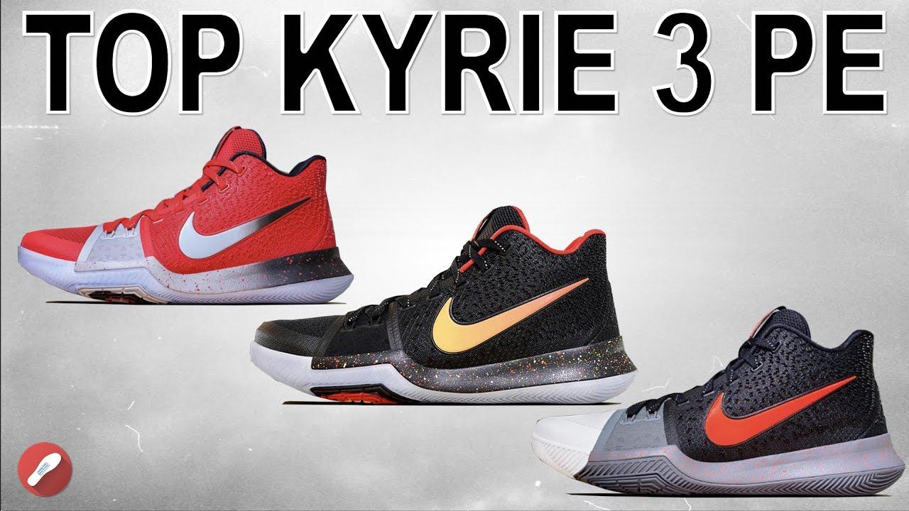 870a6b471c45 Top 10 Nike Kyrie 3 PE s! - YouTube