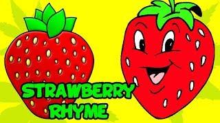 strawberry fruit rhymes english rhymes popular rhymes for children strawberry poems